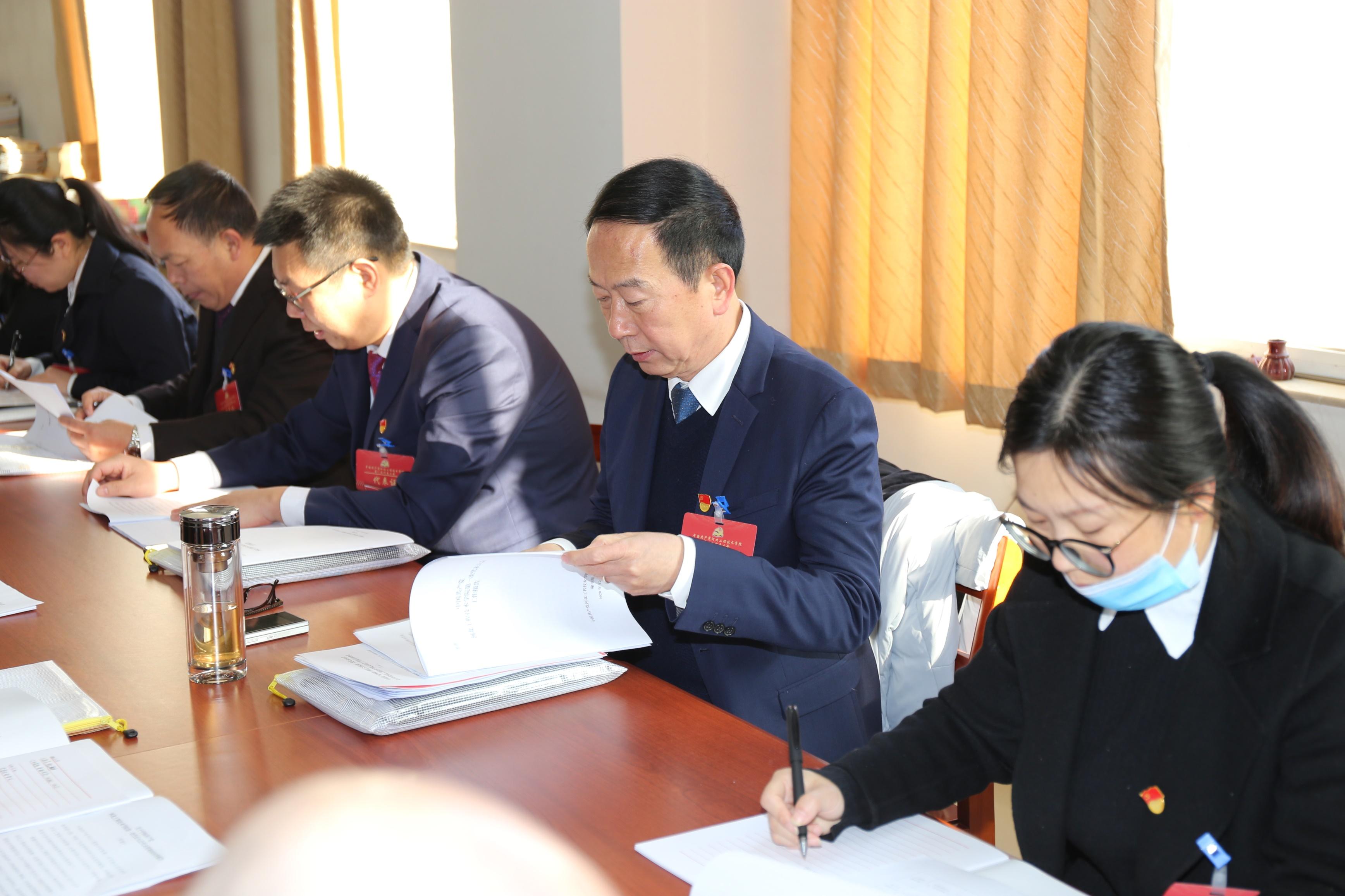 代表团第二次分团会议